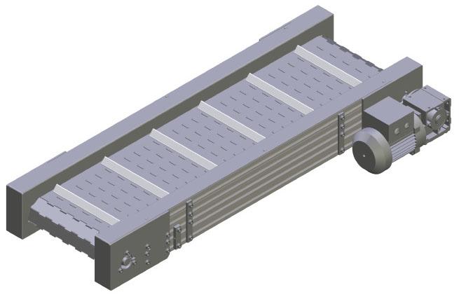 Scharnierplattenförderer SF8